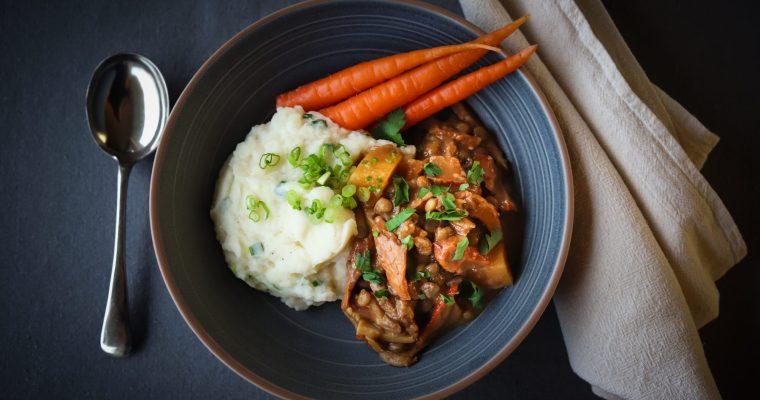 Wild Mushroom and Lentil Stew