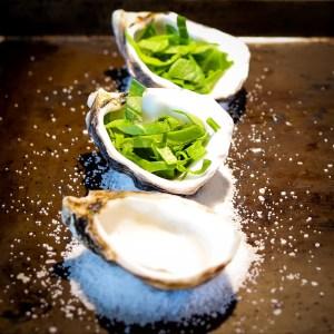 Baking Oysters Rockefeller in Shells