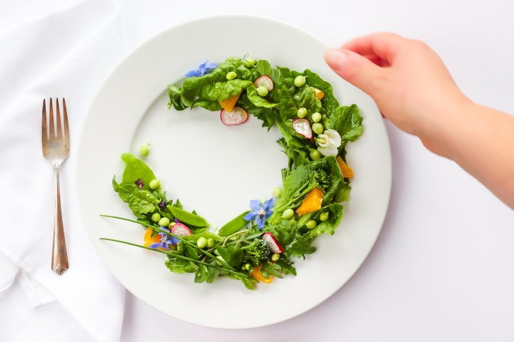 Elevated Garden Salad With Orange Vinaigrette on Instagram