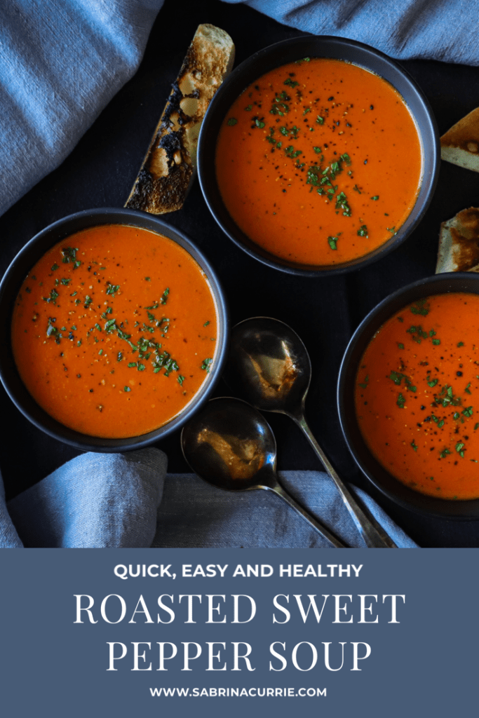 Best Roasted Red Pepper Soup Recipe