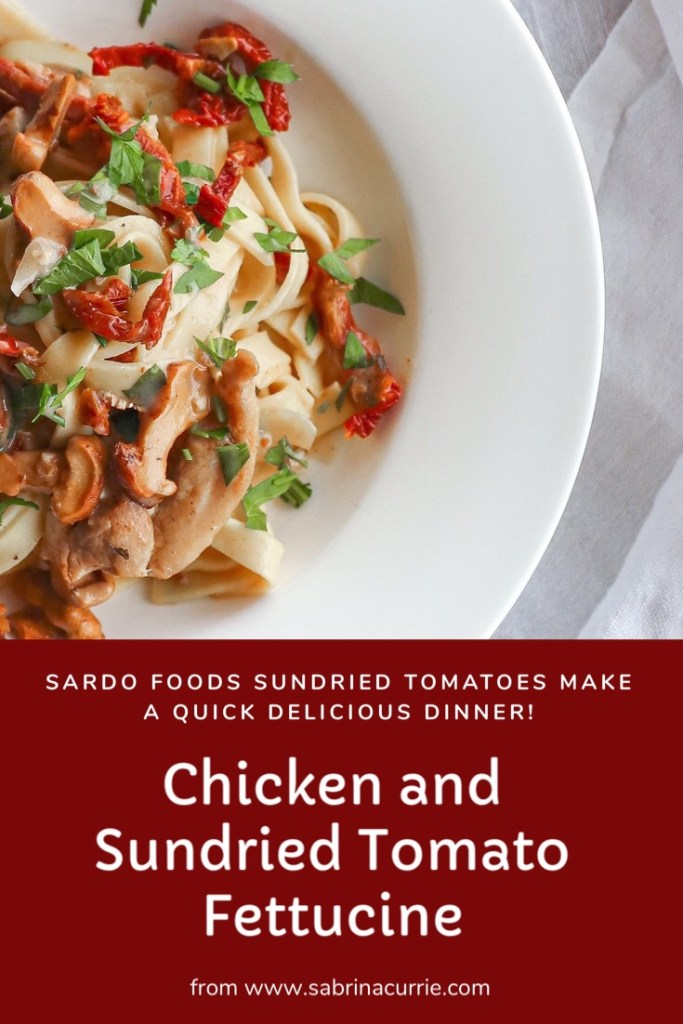 Sardo Sun Dried Tomatoes Make An Amazing Pasta Sauce