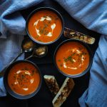 The Best Roasted Red Pepper Soup Made Quick and Easy