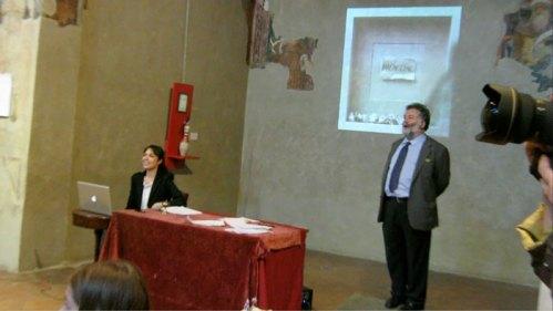"""Sabrina D'Alessandro, Jean Blanchaert, """"Asta di parole"""", """"Magnolino"""", Basilica di Sant'Ambrogio, Milano 2014, URPS, Ufficio Resurrezione Parole Smarrite"""