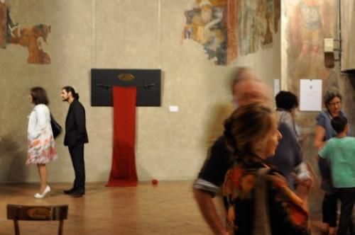 """Sabrina D'Alessandro, """"Ufficio Resurrezione Archivio 1"""", Galleria Blanchaert, Milano 2012"""