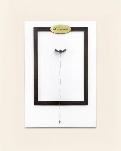 """Artista: Sabrina D'Alessandro, titolo: """"RODOMONTE"""", anno 2009, URPS, Ufficio Resurrezione Parole Smarrite, Resurrection Office"""