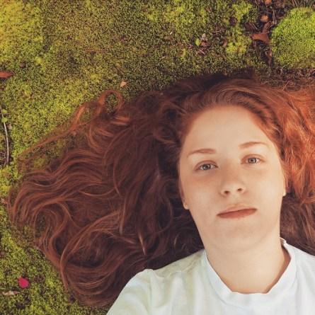 """Greens (Self-Portrait)"", digital, 2015, part of ""Greens"""