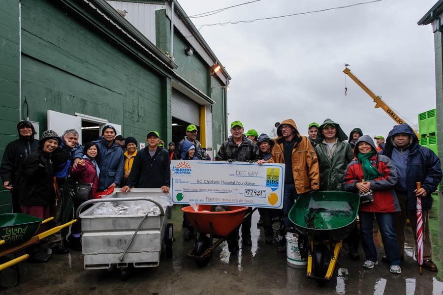fishermen helping kids with cancer steveston richmond bc 2014