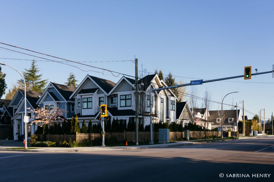 Corner of Moncton and No. 2 Road in Steveston Village 2019
