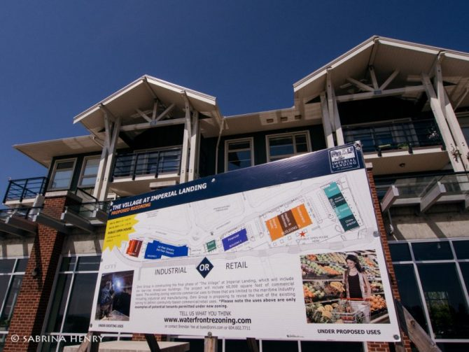 Onni Development in Steveston Village