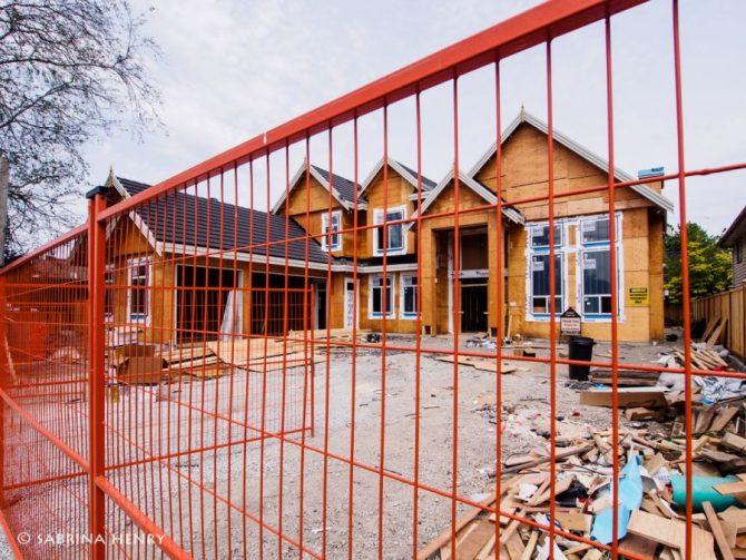Redevelopment on Moncton Street in Steveston Village