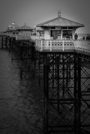 pier-in-monochrome