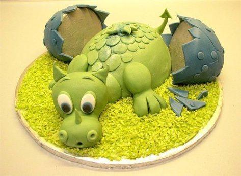 gâteau dragon