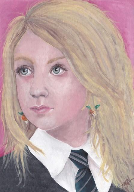 Girl with the Radish Earrings