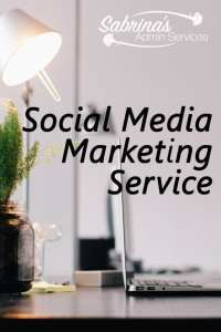 Social Media Marketing Services from Sabrina's Admin Services