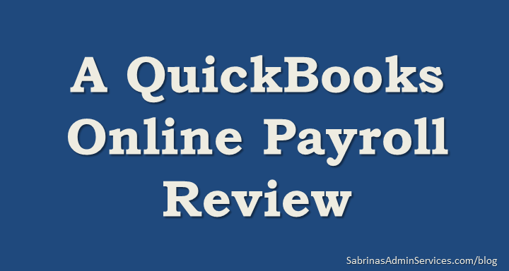 QuickBooks Online Tips Archives | Sabrina's Admin Services