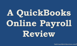 A QuickBooks Online Payroll Review