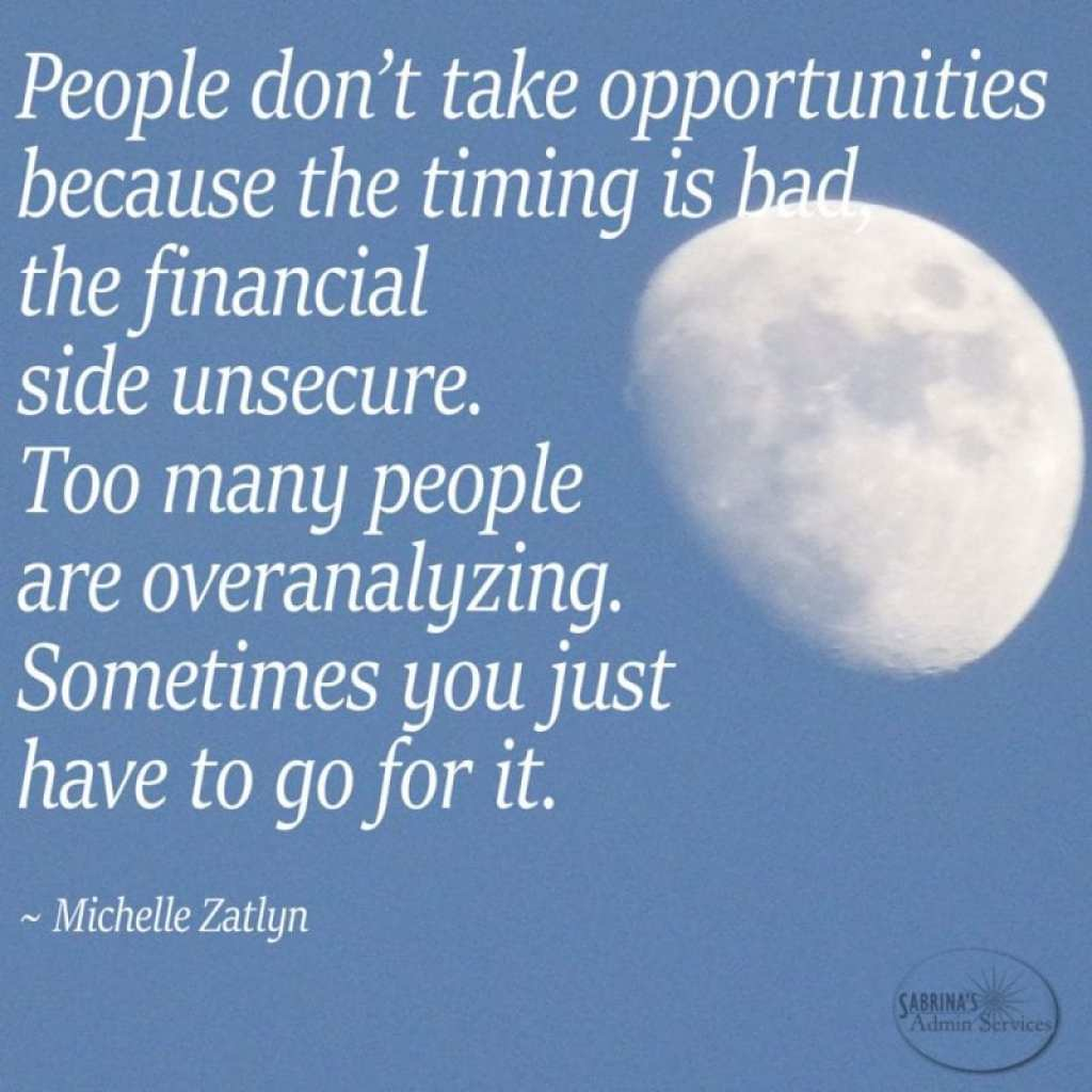 Michelle Zatlyn risk quote