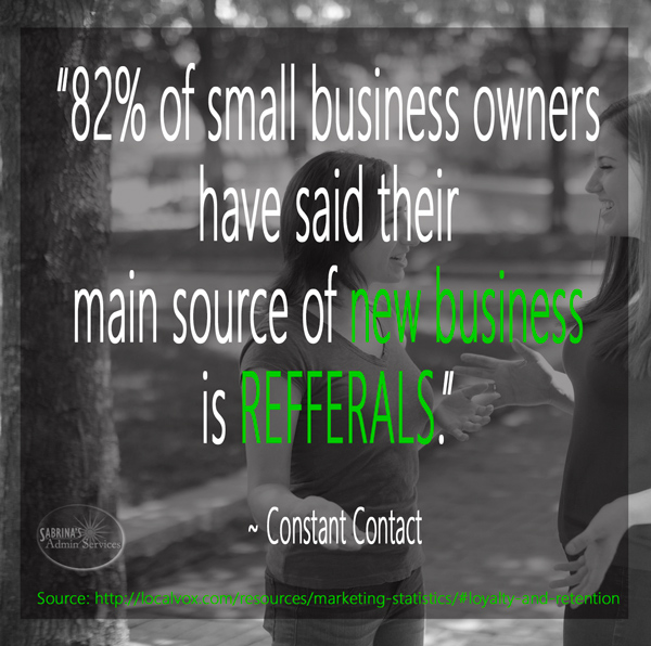 referrals for new business