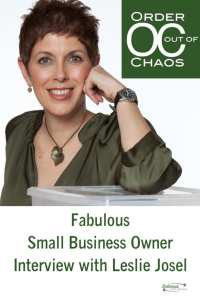 Fabulous Small Business Owner Interview with Leslie Josel