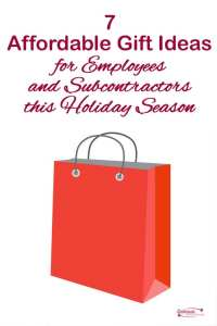 7 affordable gift ideas for employees and subcontractors this holiday season