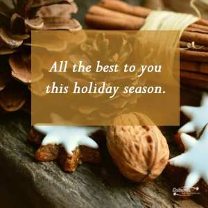 All the best to you this holiday season. - 11 Free Seasons Greetings Images to Share With Clients