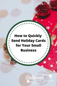 How to Quickly Send Holiday Cards for Your Small Business