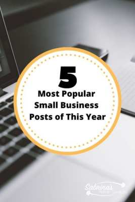 Five Most Popular Small Business Posts of This Year