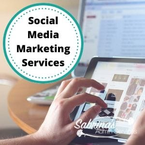 Small Business Social Media Marketing Services by Sabrina's Admin Services