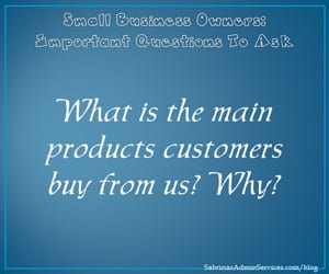What is the main products customers buy from us