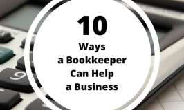 10 Ways a Bookkeeper Can Help a Business