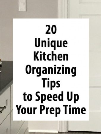 20 Unique Kitchen Organizing Tips to Speed up Your Prep Time