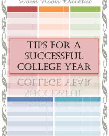 Tips for a successful college year | Sabrina's Organizing #school #organization #College