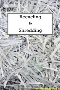 Recycling and Shredder Event