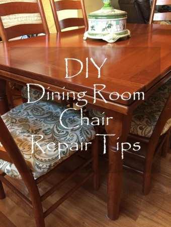 DIY Dining Room Chair Repair Tips