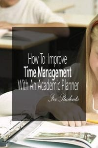 How To Improve Time Management with An Academic Planner
