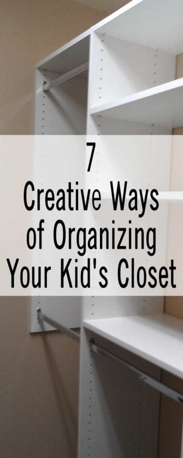 7 Creative Ways of Organizing Your Kid's Closet