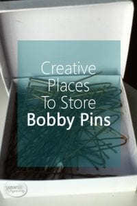 Creative Places To Store Bobby Pins