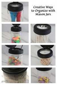 9 Creative Ways to Organize with Mason Jars