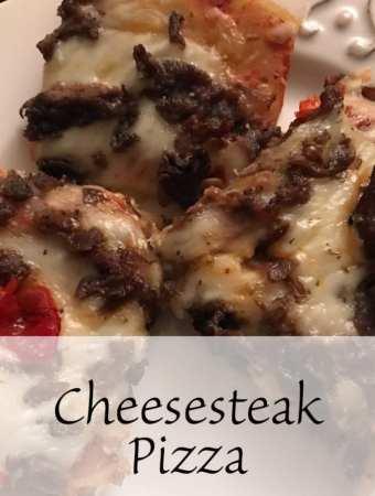 Cheesesteak Pizza Recipe