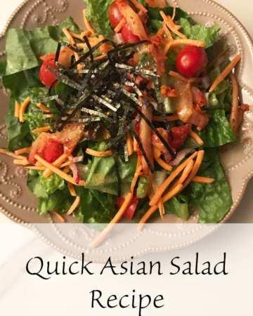 Quick Asian Salad recipe