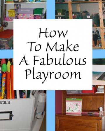 How to make a Fabulous Playroom