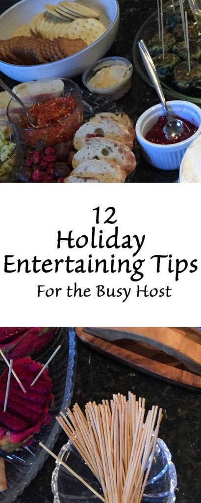 12 Holiday Entertaining Tips For the Busy Host