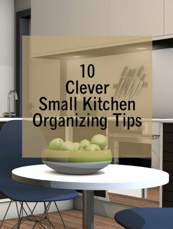 10 Clever Small Kitchen Organizing Tips