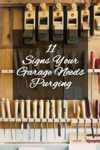 11 signs your garage needs purging