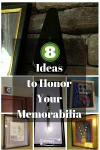 8 Ideas to honor your memorabilia