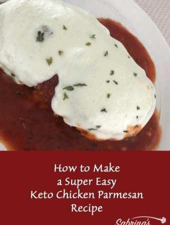 How to Make a Super Easy Keto Chicken Parmesan Recipe