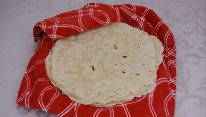 Easy Paleo Tortillas