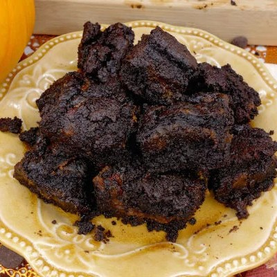Super Fudgy Paleo Pumpkin Swirl Brownies