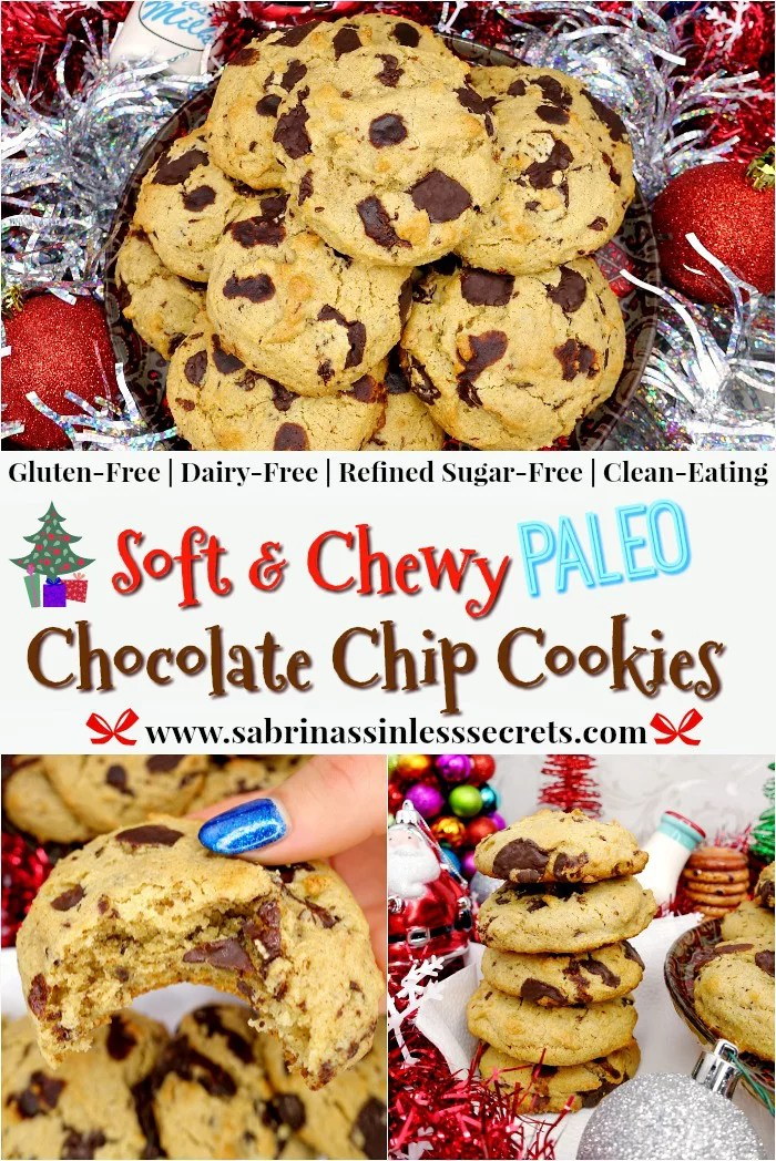 Soft & Chewy Paleo Chocolate Chip Cookies