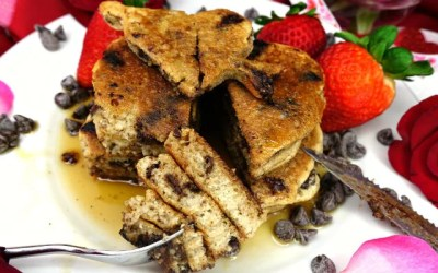 Paleo Dark Chocolate Chip Pancakes